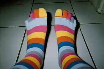 La vie en couleur jusqu'au bout des orteils